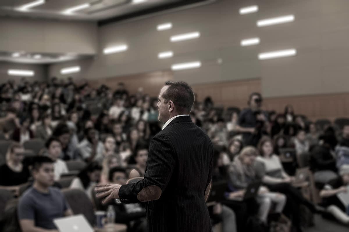 Daniel Lerner, NYU professor, inspirational speaker and innovative author