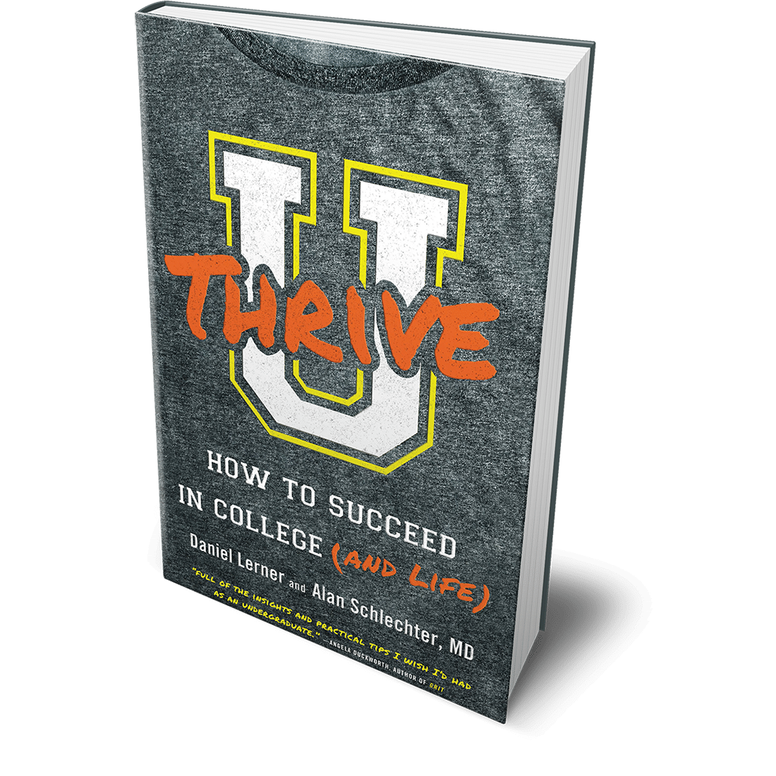 Dan Lerner's new book, U Thrive