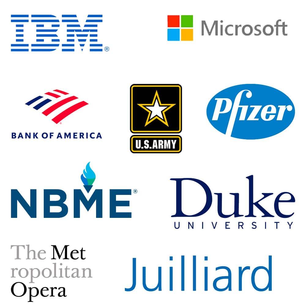 Daniel Lerner Client Logo Cloud
